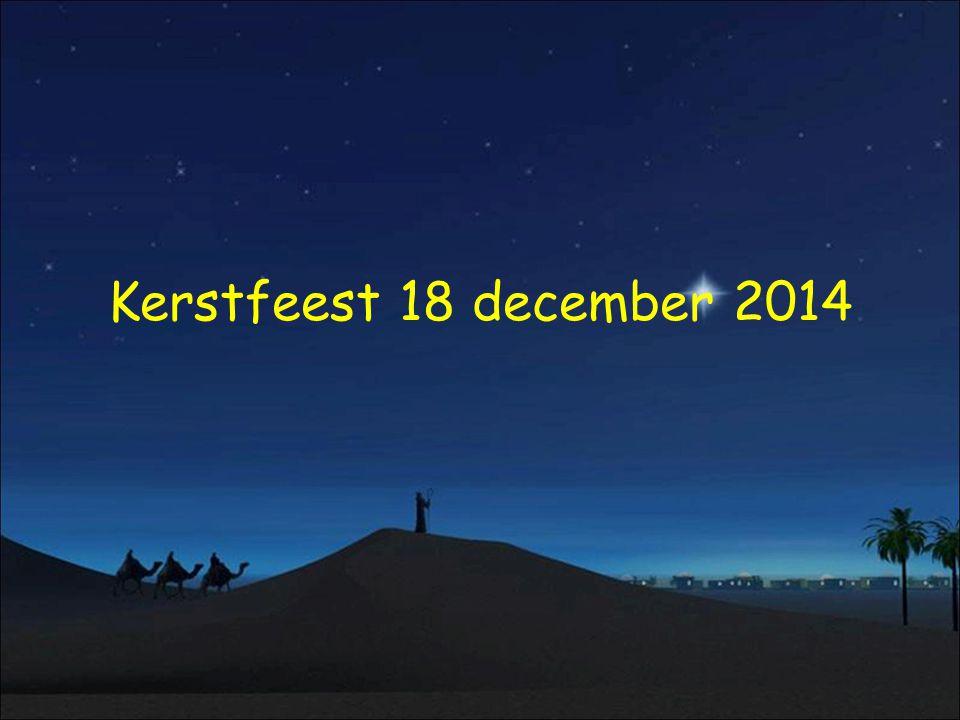 Kerstfeest 18 december 2014