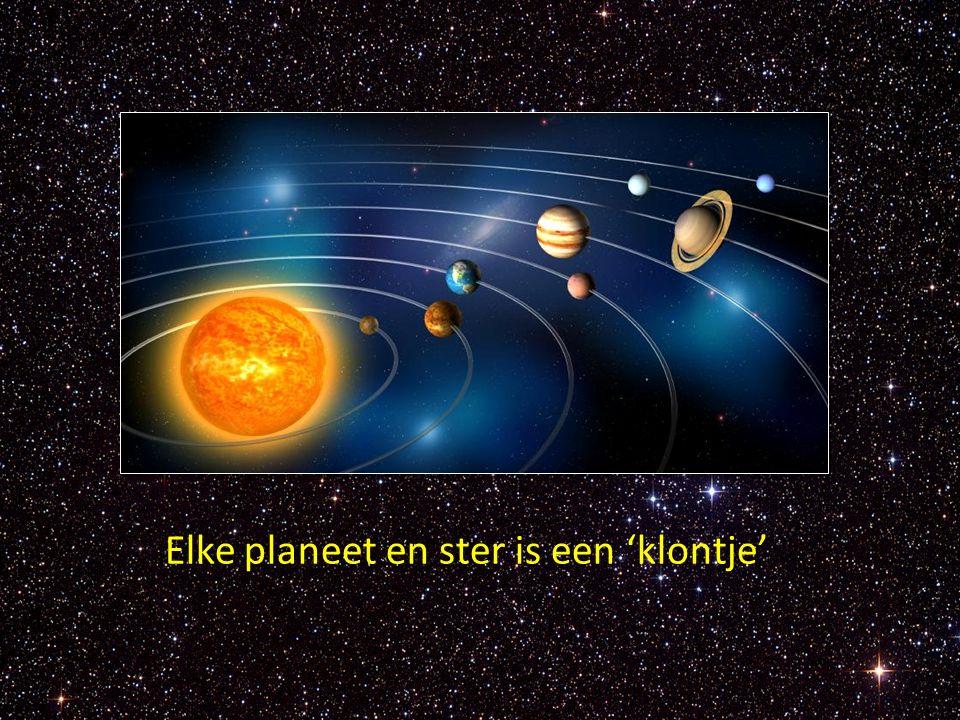 Elke planeet en ster is een 'klontje'