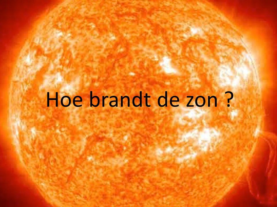 Hoe brandt de zon ?