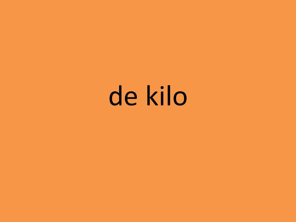 de kilo