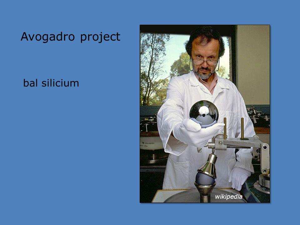 Avogadro project bal silicium wikipedia