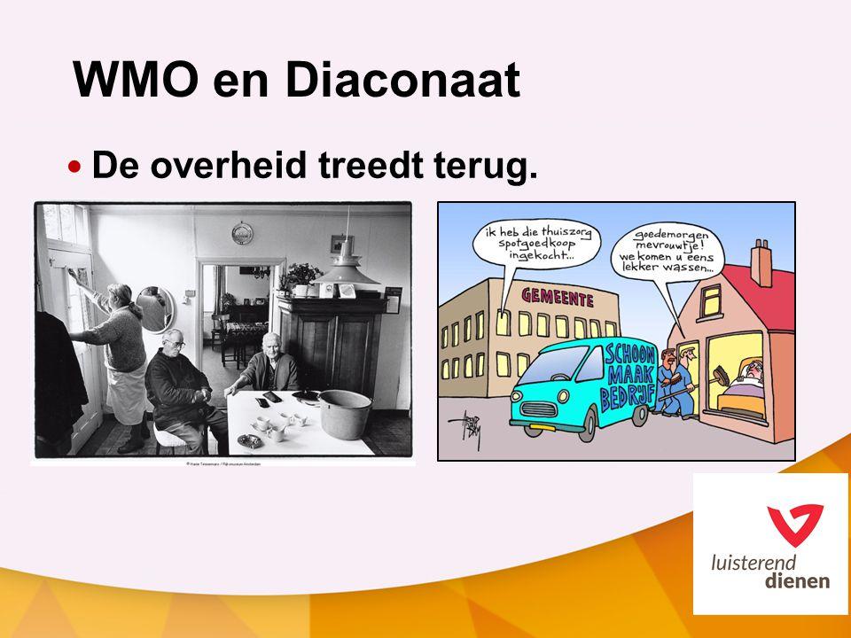 WMO en Diaconaat De overheid treedt terug.