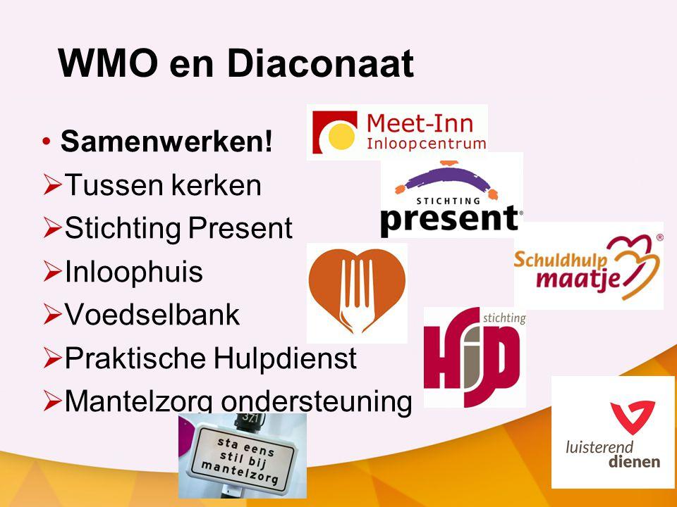 WMO en Diaconaat Samenwerken.