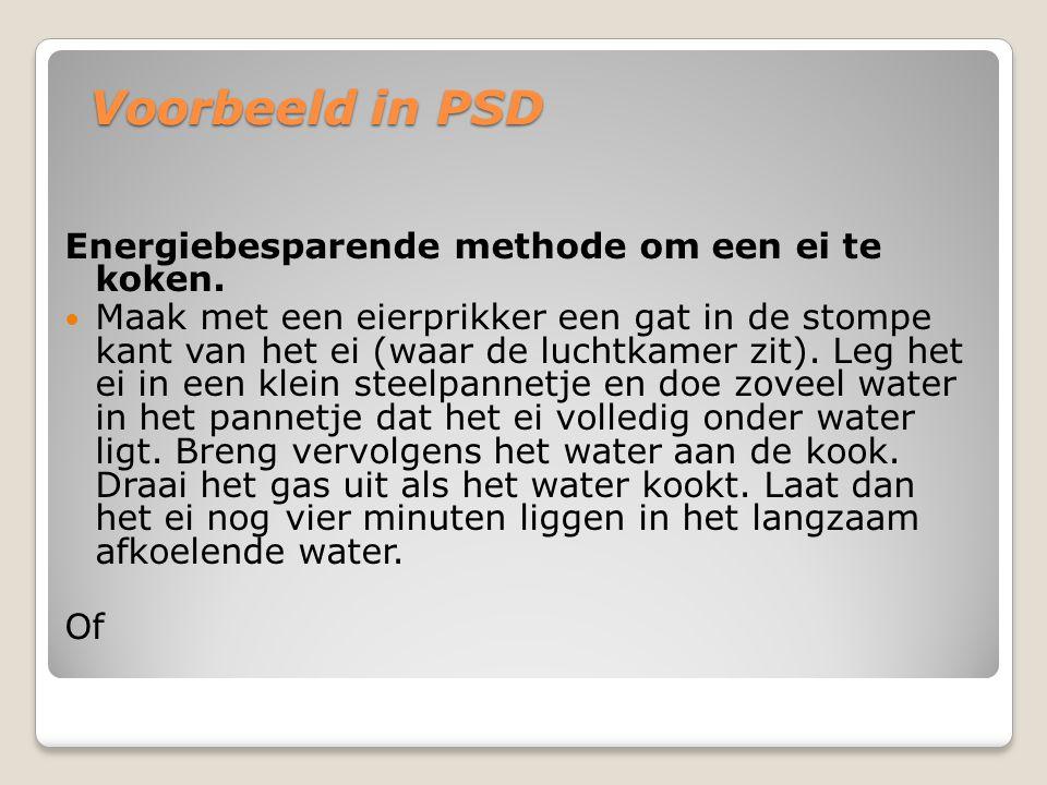 Opdracht Geef in een PSD weer hoe je een band moet plakken.