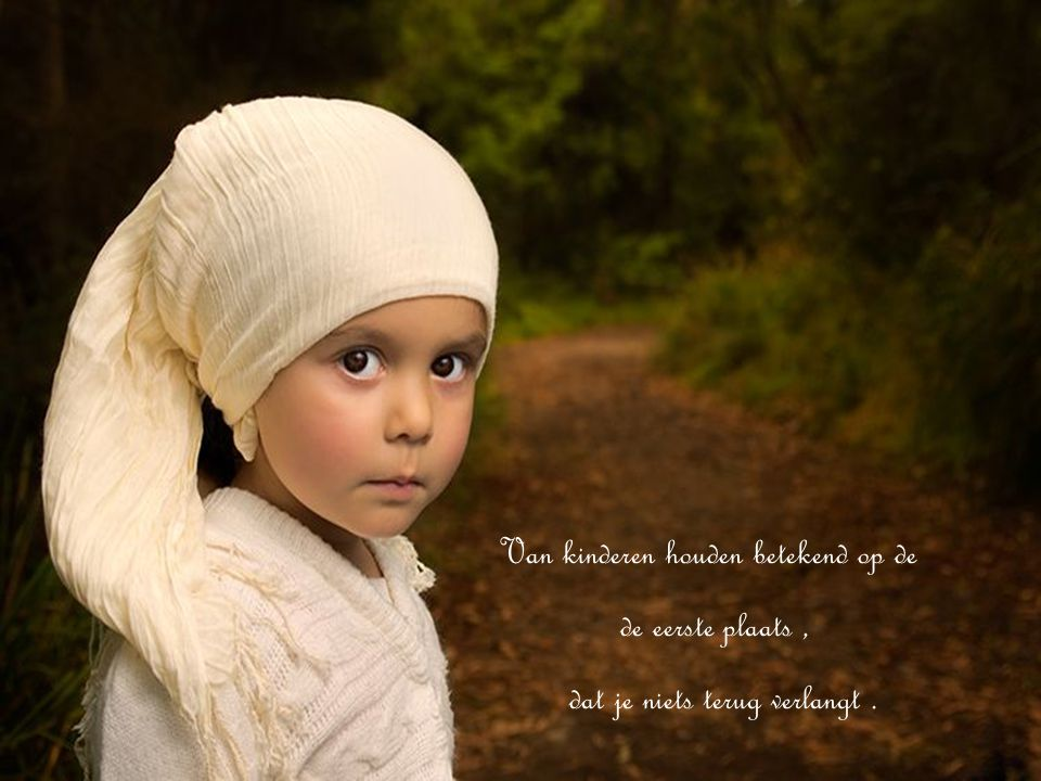 Het leven van de ouders is het boek waarin de kinderen lezen.
