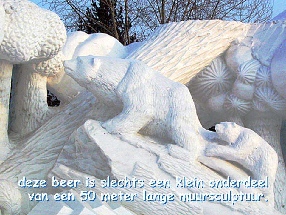 Harbin ligt in Rusland zo een 450km ten noorden van het gekende koude Vladivostok, met temperaturen van vaak – 40°C en een half jaar onder het vriespunt.