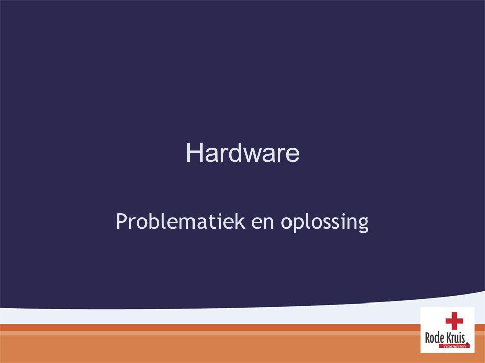 Hardware Problematiek en oplossing