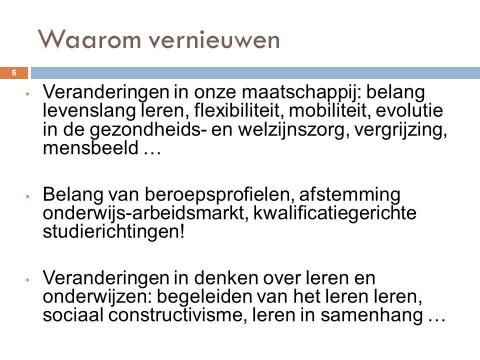 AD 4 Zorg dragen voor gezondheid en welzijn 77 Complexe zorgsituaties Gegevens over de gebruiker (≠ patronen en icf) verzamelen om zorgsituatie in kaart te brengen (4.1) Verduidelijken en toelichten van (lichamelijke en psychische) stoornissen en aandoeningen én hun invloed op het menselijk functioneren (linken patronen en icf) (4.2)
