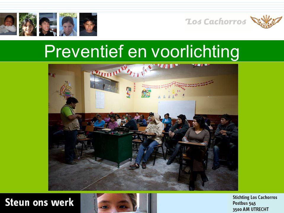 Organisatie Team in Ayacucho Team in Nederland