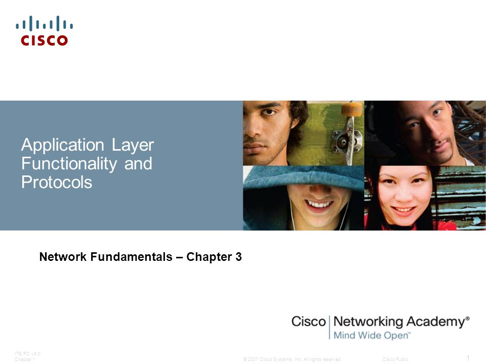 ITE PC v4.0 Chapter 1 42 © 2007 Cisco Systems, Inc. All rights reserved.Cisco Public