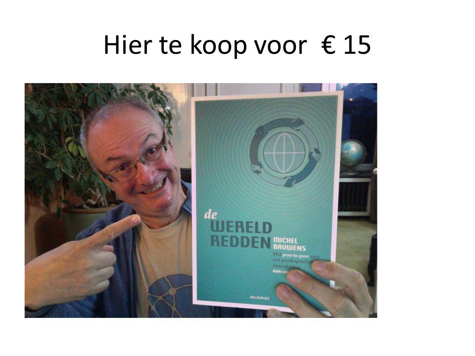 Hier te koop voor € 15