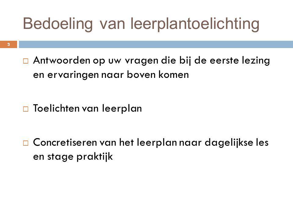 AD 6 Indirecte zorg verlenen 94 Informeren en plannen Organiseren van de indirecte zorg in complexe zorgsituaties (6.1) Productkennis in relatie met specifieke behoeften - Weekplanning Uitvoeren Zorg dragen voor maaltijdzorg binnen de context van de kinderopvang (6.2) Zorg dragen voor interieurzorg binnen de context van de kinderopvang (6.3) Zorg dragen voor linnenzorg binnen de context van de kinderopvang(6.4) Kind betrekken bij uitvoeren van taken