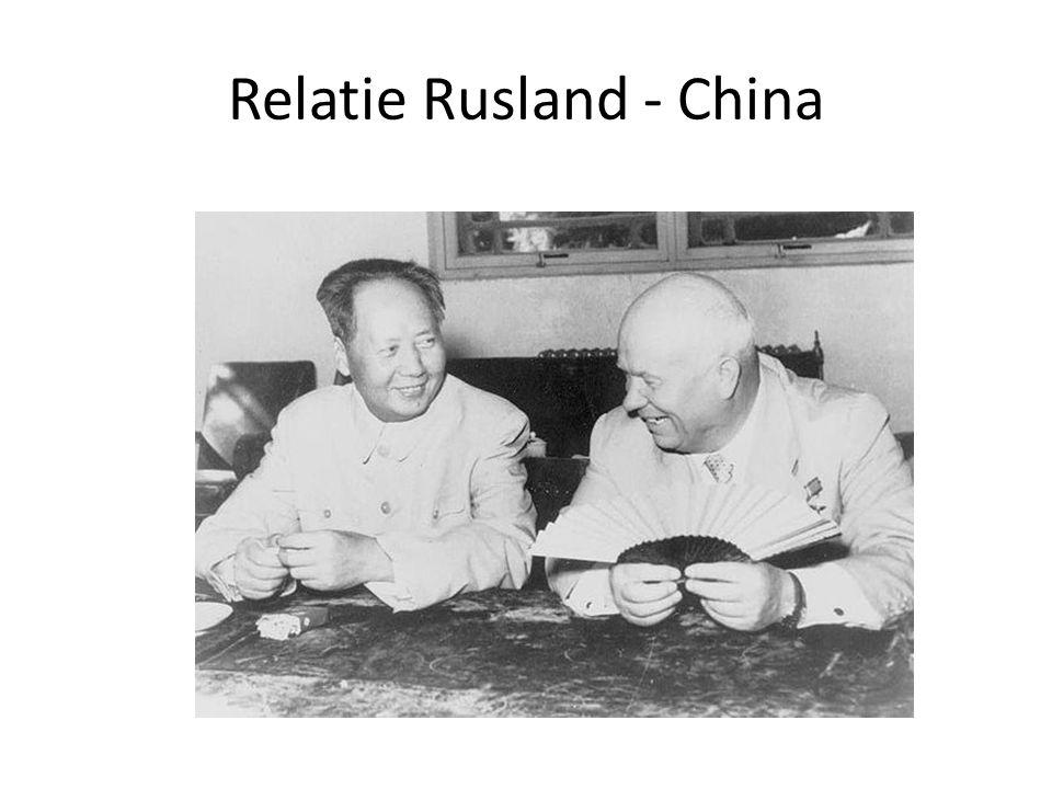Relatie Rusland - China