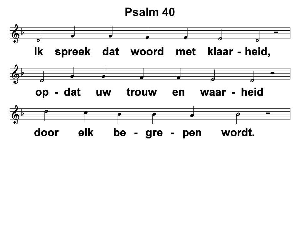 Lied 481: 1 en 2  Preek  Gz.131: 3, 6, 7, 8 en 9  Geloofsbelijdenis  Ps.