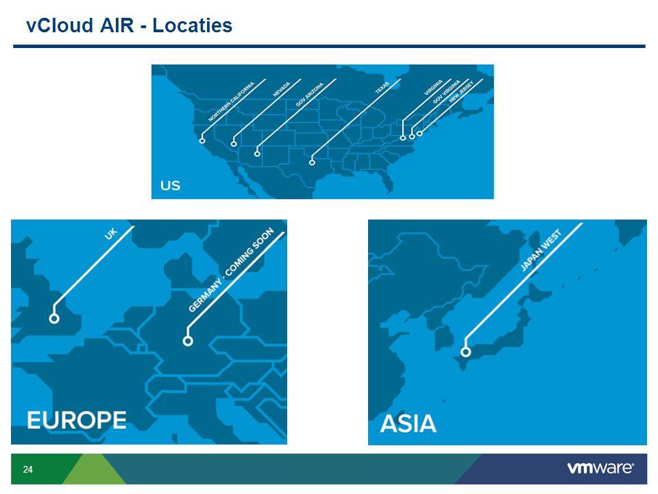 24 Confidential vCloud AIR - Locaties
