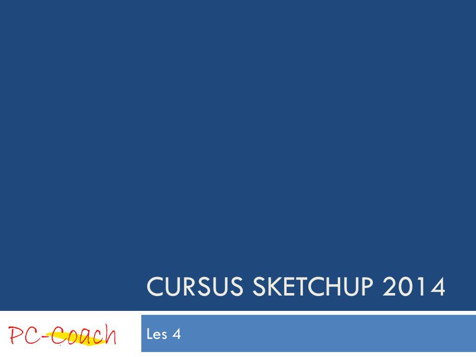 Inhoud les 4 (Ronde vormen)  Cirkels en veelhoeken  Entity Info  Bogen  Draaien  Een deurknopcomponent maken 3