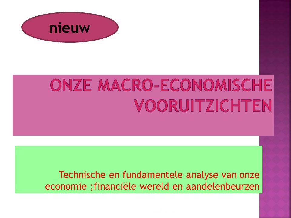 Technische en fundamentele analyse van onze economie ;financiële wereld en aandelenbeurzen 10/01/2015 4 nieuw
