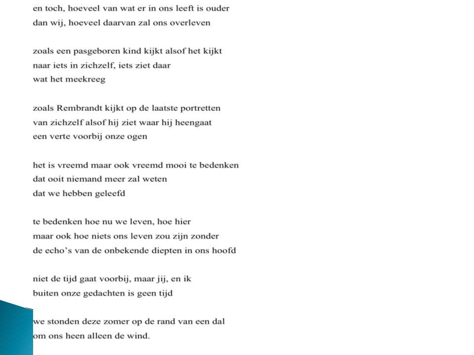  Religie en spiritualiteit van lineaire moderniteit droegen bij aan dominantie kloktijd en verlies 'spiritualiteit'  Sporen uit Christelijke traditie roepen op tot andere manieren van kijken en op andere plaatsten (Makom)  Opnieuw de dichter: William Blake