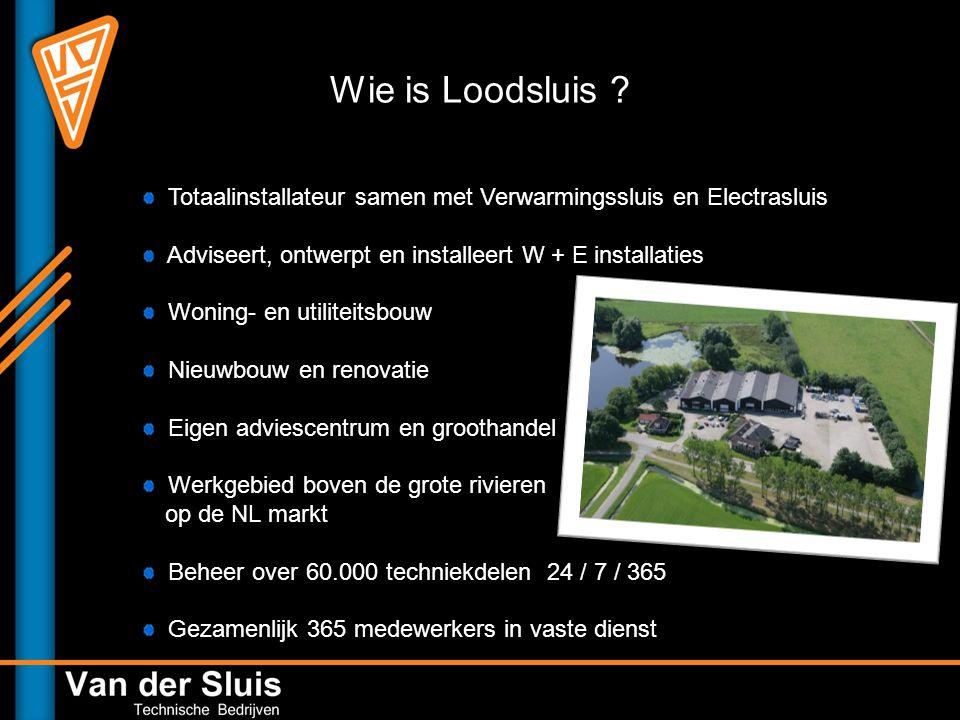 Wie is Loodsluis .