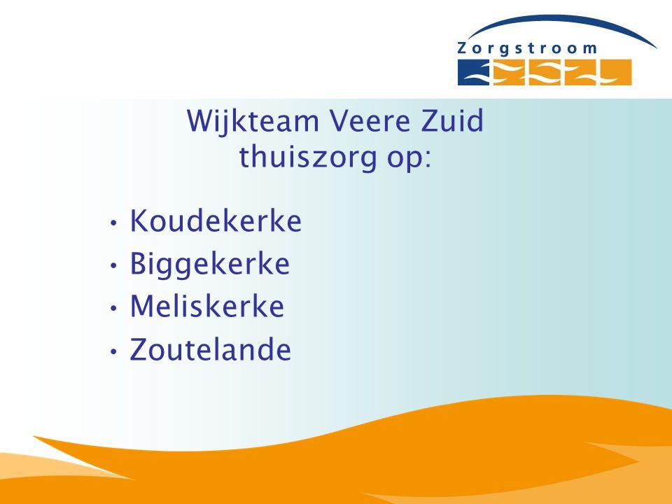 Wijkteam Veere Zuid thuiszorg op: Koudekerke Biggekerke Meliskerke Zoutelande