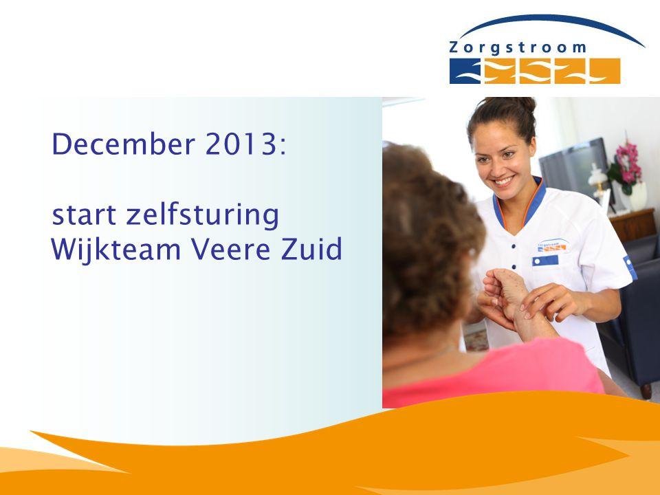 December 2013: start zelfsturing Wijkteam Veere Zuid