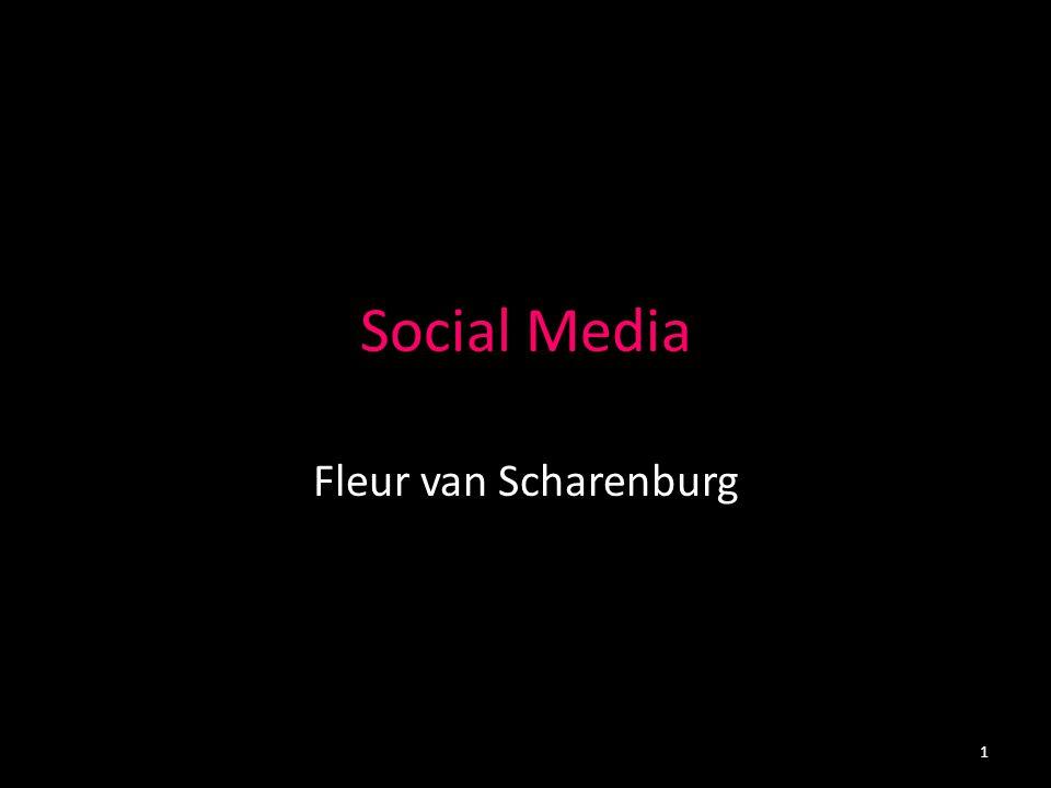 Social Media Fleur van Scharenburg 1