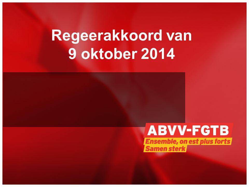 Regeerakkoord van 9 oktober 2014