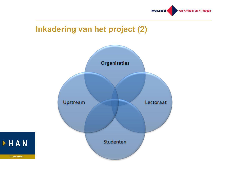 Inkadering van het project (2)