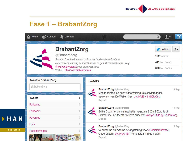 Fase 1 – BrabantZorg