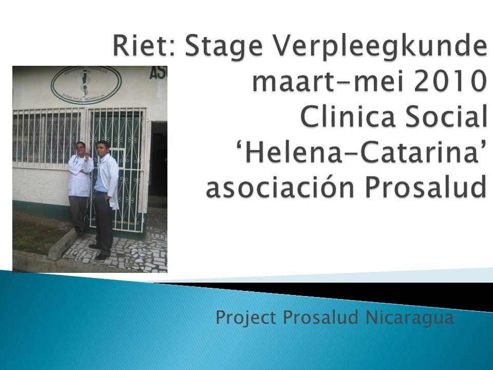 Project Prosalud Nicaragua