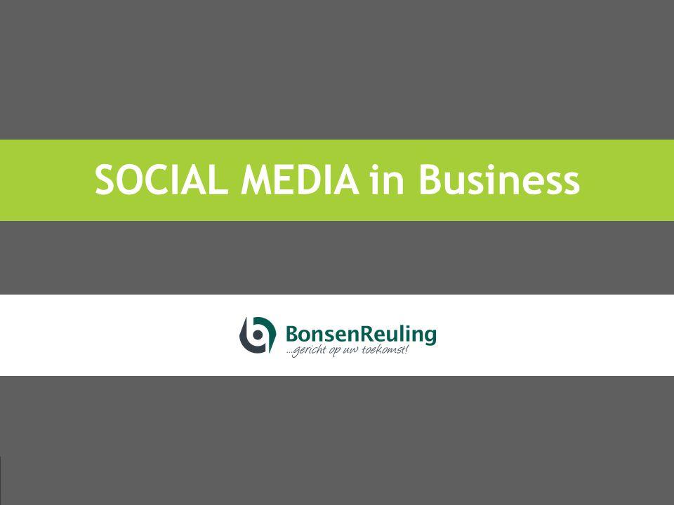 Social Media in Business #smib Kans of bedreiging?