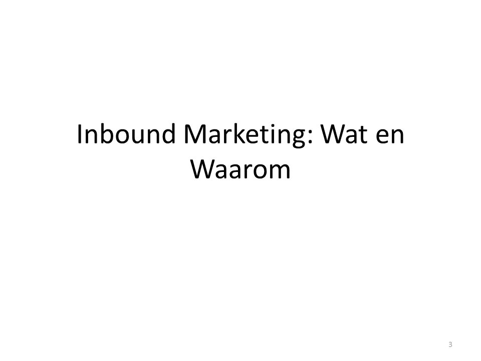 4 De teloorgang van 'klassieke' marketing: statistieken