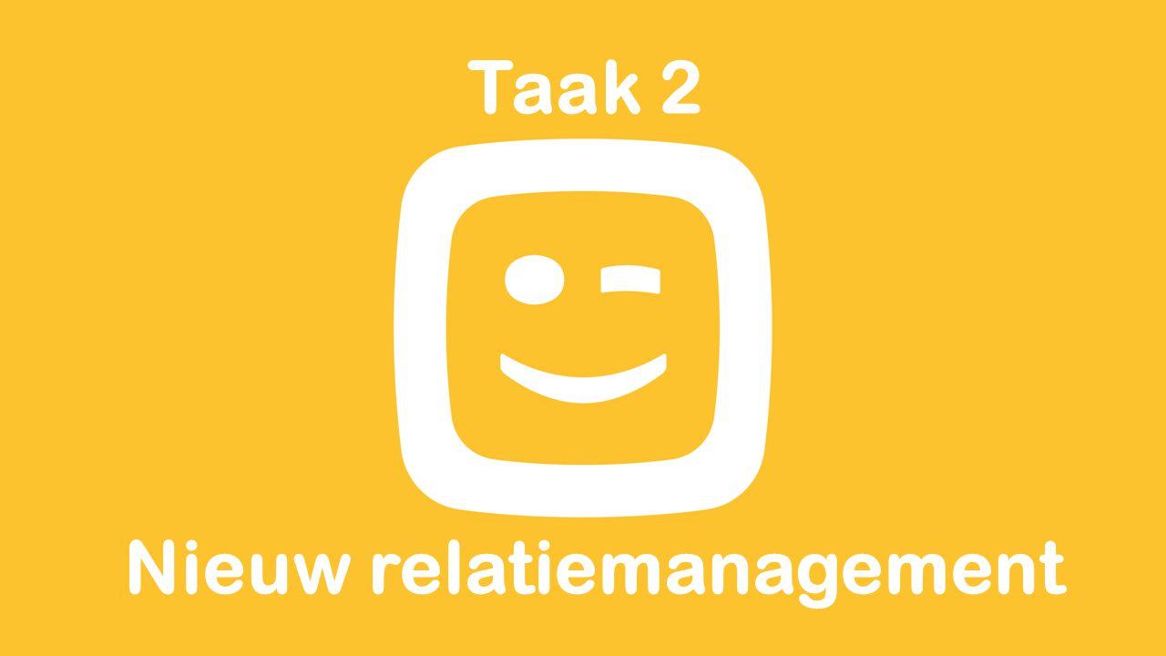 Taak 2 Nieuw relatiemanagement