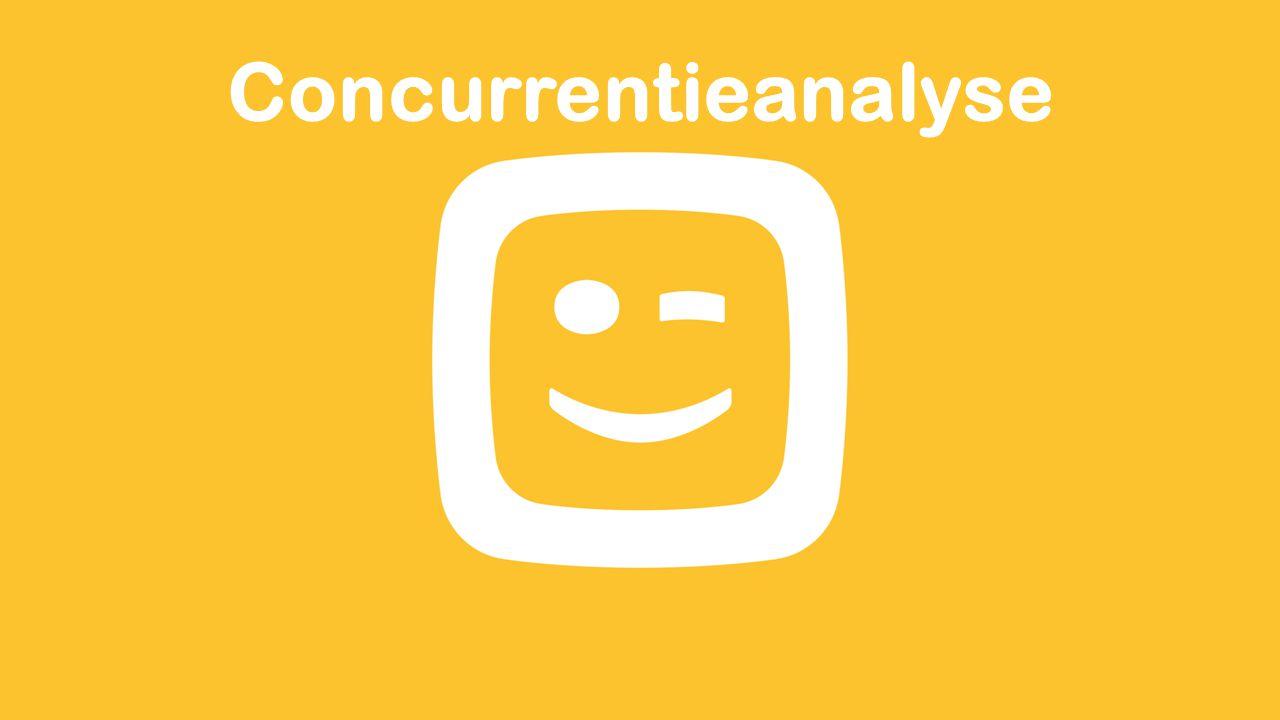 Concurrentieanalyse