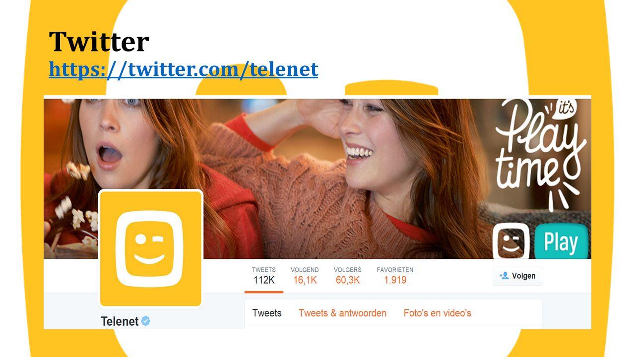 Twitter https://twitter.com/telenet https://twitter.com/telenet