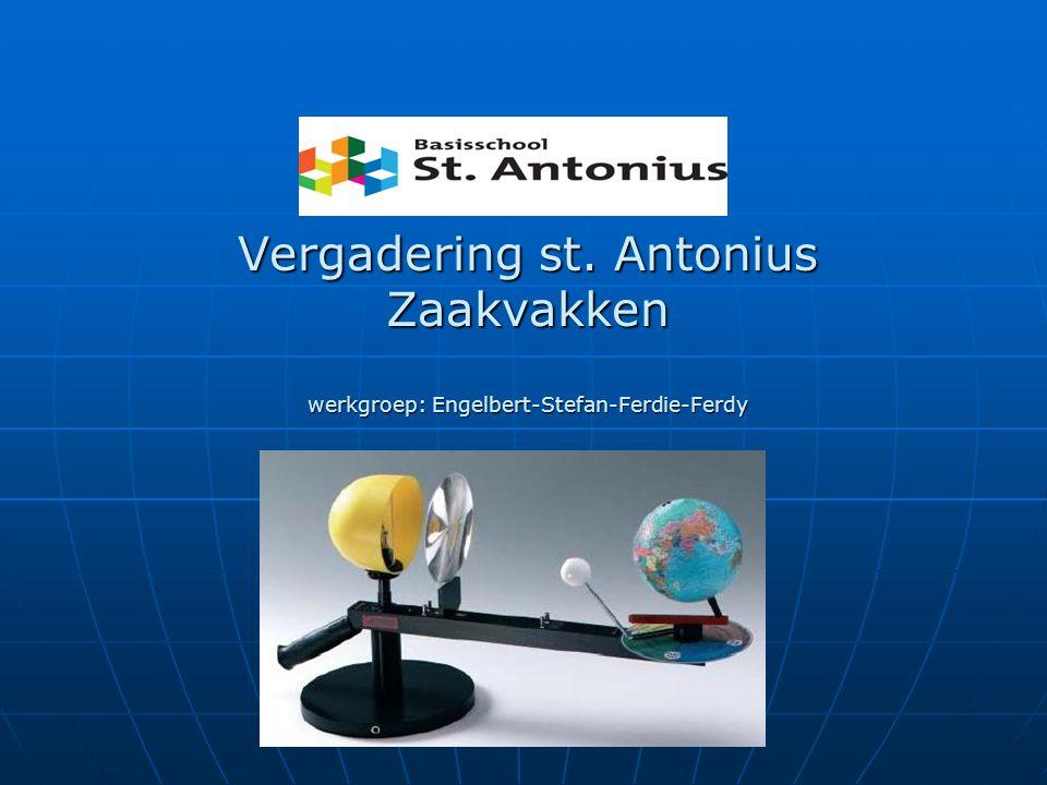 Vergadering st. Antonius Zaakvakken werkgroep: Engelbert-Stefan-Ferdie-Ferdy Vergadering st. Antonius Zaakvakken werkgroep: Engelbert-Stefan-Ferdie-Fe