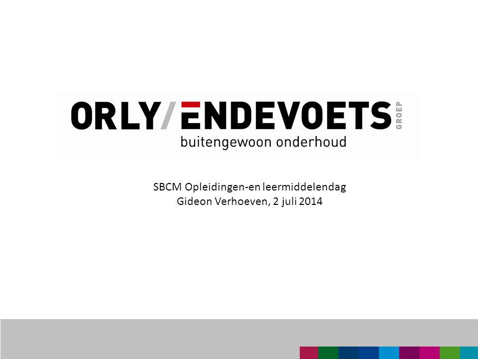 SBCM Opleidingen-en leermiddelendag Gideon Verhoeven, 2 juli 2014