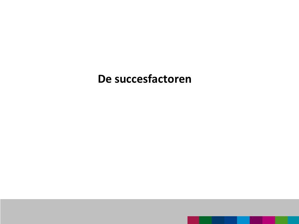 De succesfactoren