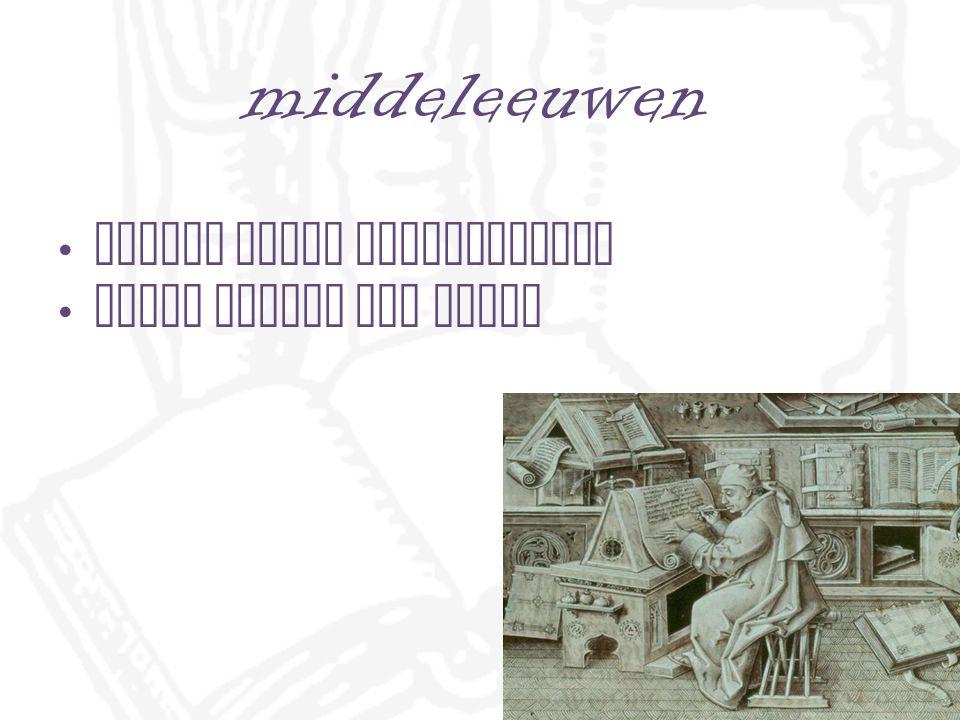 middeleeuwen rijken lazen manuscripten armen wilden ook lezen