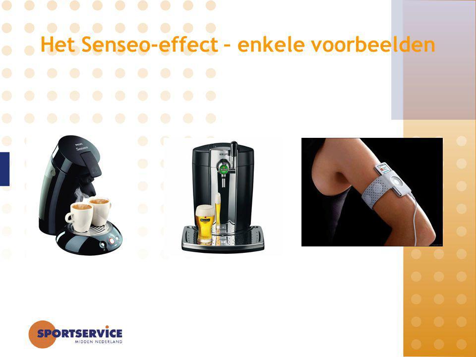 Het Senseo-effect – enkele voorbeelden