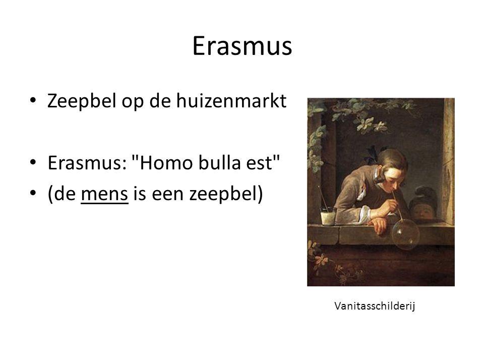 Erasmus Zeepbel op de huizenmarkt Erasmus:
