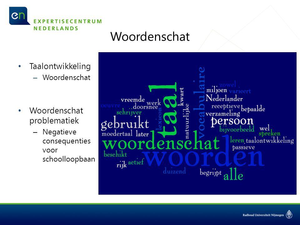 Onderzoeksvragen Wat is de invloed van de familiecontext factoren op de woordenschatontwikkeling van peuters.