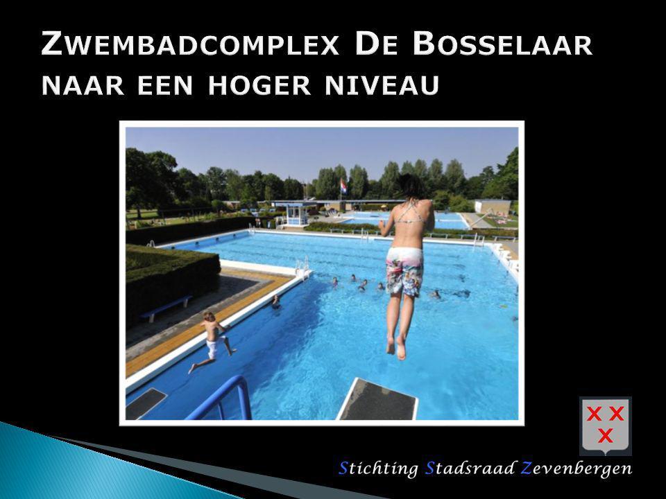 Inleiding Zwemmen in de gemeente Moerdijk Locatie de Bosselaar, lange termijn Locatie de Bosselaar, korte termijn Rol en acties van Stadsraad Zevenbergen Vragen….