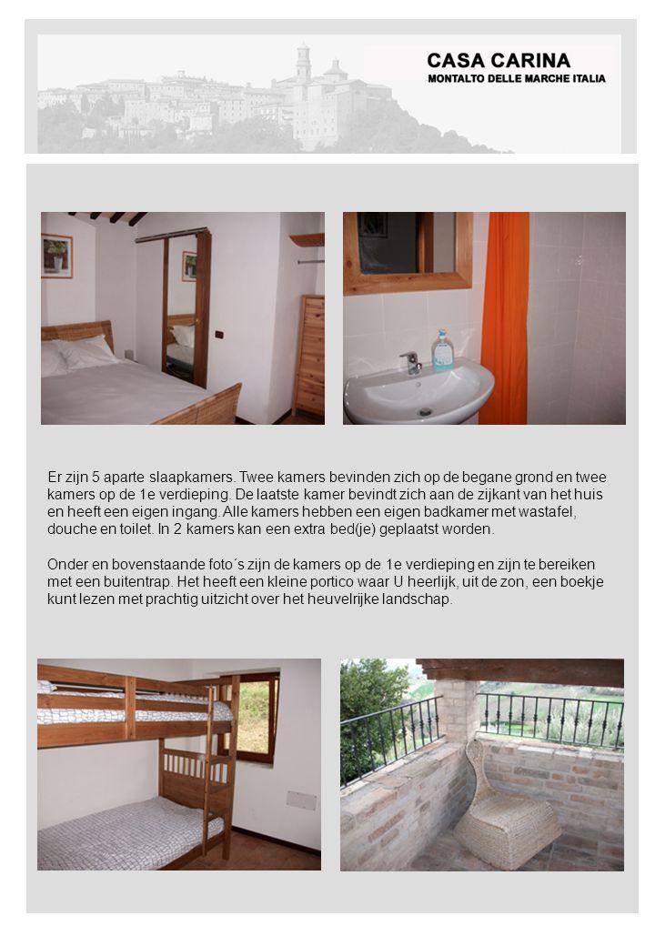 APPARTEMENT 1e VERDIEPING (4-6 pers.) Bovenstaande foto´s zijn de kamers op de begane grond, ook beiden met een eigen badkamer.