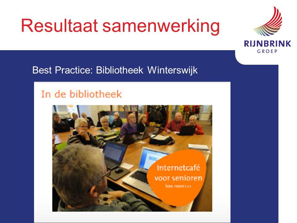 Resultaat samenwerking Best Practice: Bibliotheek Winterswijk