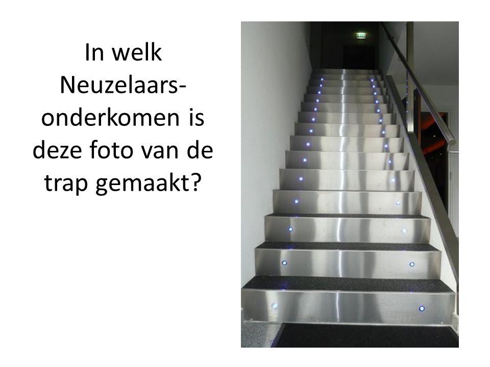 In welk Neuzelaars- onderkomen is deze foto van de trap gemaakt