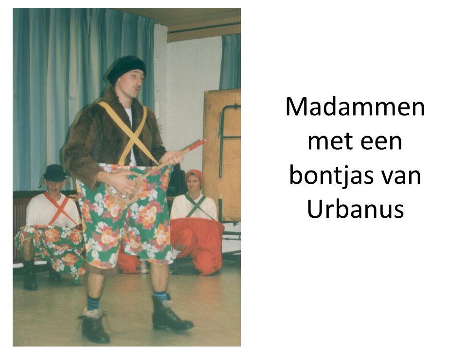 Madammen met een bontjas van Urbanus
