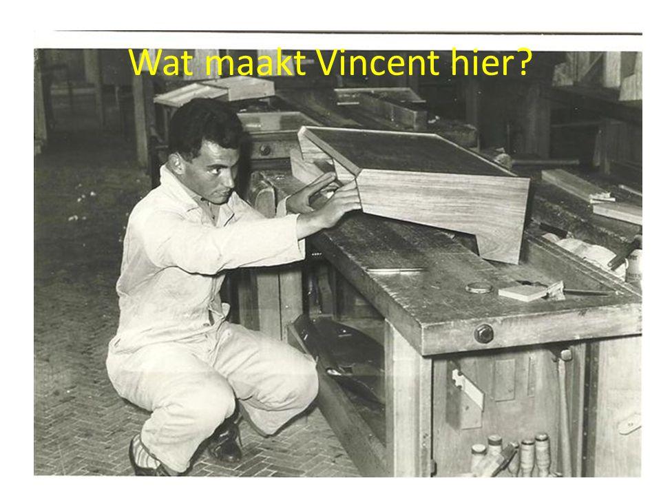 Wat maakt Vincent hier
