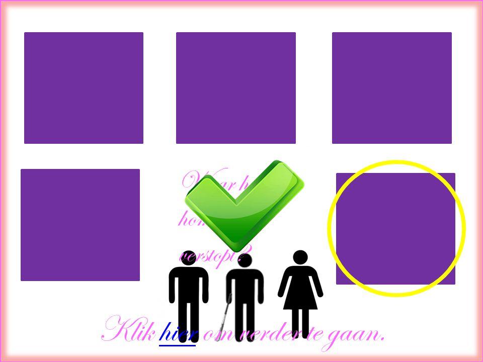 Waar heeft de homo zich verstopt? Klik hier om verder te gaan.hier