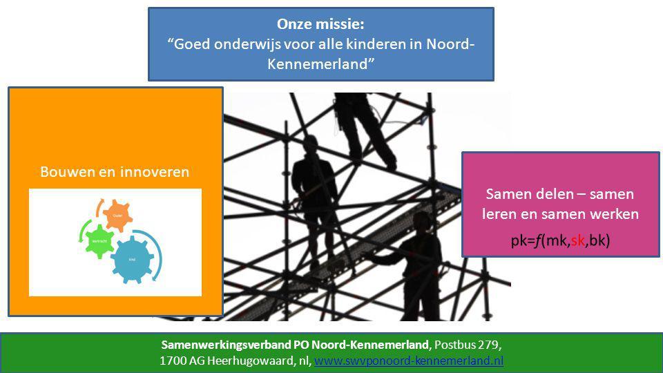 Samenwerkingsverband PO Noord-Kennemerland, Postbus 279, 1700 AG Heerhugowaard, nl, www.swvponoord-kennemerland.nlwww.swvponoord-kennemerland.nl Onze